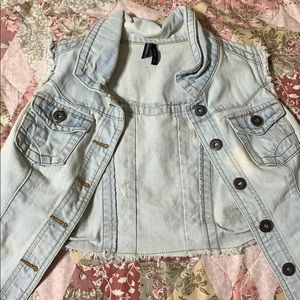 HIGHWAY jeans denim vest